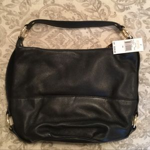 bb8d3cb91b40 Michael Kors Bags - NWT Black Michael Kors Fulton shoulder handbag